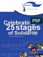 Celebrating 25 Stages of Solidarite Booklet