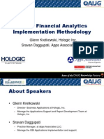 Oracle Financial Analytics Implementation Methodology