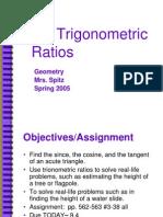 9.5 Trigonometric Ratios