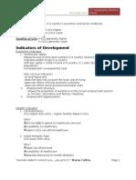 Development 'O' Level Revision