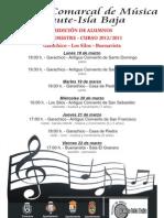 Cartel Audiciones II Trimestre