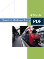 Electrical Machines & Appliances EMA - 4 Marks Q&A