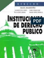 INSTITUCIONES DE DERECHO PUBLICO -  RAUL MADUEÑO