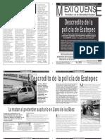 Versión impresa del periódico El mexiquense 13 marzo 2013
