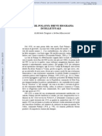 CANGIANI Biografia Intelectual de Polanyi