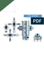 R2-D2 MiniPapercraft by Gus Santome