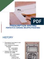Prescription Writing Lecture