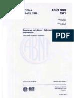 NBR 6971-2012 - Defensas (Procedimentos)