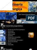 SAR - Enfermería Quirúrgica 2013