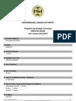 Direitos Reais Programa