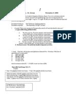 Pediatrics Quiz 2001