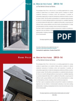 123089 Rome Prize in Architecture Posters