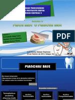 Materiales Dentales Placas Base