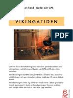 Vikingatiden lärarhandledning