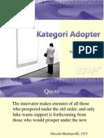 kategori adopter