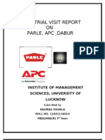 Phool Chandra Industrial Visit Report