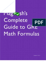 Magoosh GRE Math Formula eBook