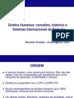 Alexandre Direitos-humanos Cidadania Conceito Sistema-Internacional