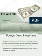 Fdi and Fiis