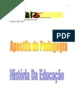 APOSTILA DE HISTORIA DA EDUCAÇÃO