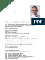 Professor Dr. Med. Dipl Oec. Med. Felix Herth, FCCP
