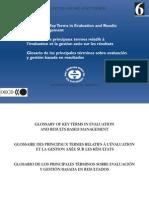 Oecd 2002 Evaluation Glossary