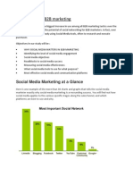 Social Media in B2B Marketing