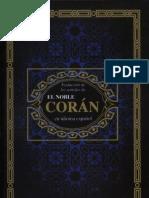 Traducción de los significados de EL SAGRADO CORÁN en idioma Español