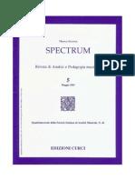 Analisi Musicale - M Musumeci, Didattica Dell'Analisi Questionari D'Esame (Ed Ricordi)