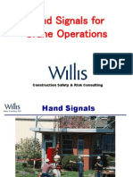 Hand Signals for Crane Operations