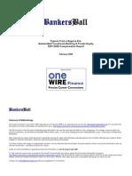 BankersBall Compensation Report 2007 2008
