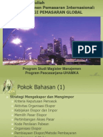 Strategi Pemasaran Global 2