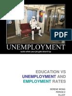 educationvsunemploymentandemploymentrates-100613221743-phpapp01.ppt