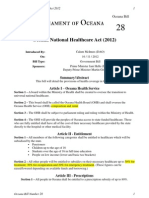 OB28 - Oceana Healthcare Act (2012) STAGE 2