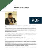 Democratic Treasurer Faces Charge