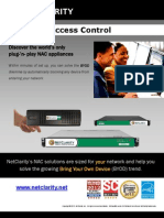 Network Access Control Executive Summary