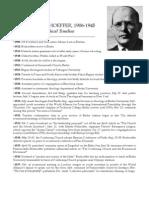Bonhoeffer Timeline