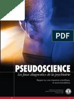 Pseudoscience Les Faux Diagnostics de La Psychiatrie