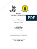 glaukoma kongenital