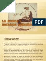 Musica Antigua Grecia y Notacion Grecorromana