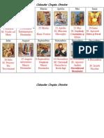 Calendar Crestin Ortodox  Cu Icoane