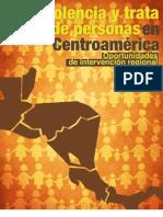 Estudio Violencia y Trata Personas en Centroamérica