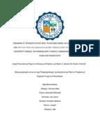 maagang pagbubuntis ng kabataan thesis