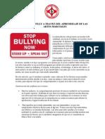 Prevencion Bully A Travez Del Aprendizaje De Las Artes Marciales
