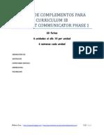 Fichas de complementos para Curriculum IB_phase1