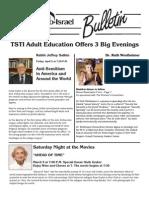 TSTI Bulletin for March 2013