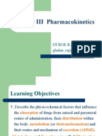 pharmacology3(Pharmacokinetics)
