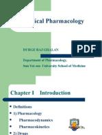 pharmacology1(Medical Pharmacology)