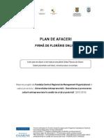 Http Businesspass.ro Ael Crf Editor ViewOnlineDocument.action Path= Biblioteca Antreprenoriala Instrumente Antreprenoriale Modele Planuri de Afaceri PA Firma de Florarie Online