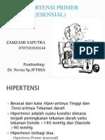Hipertensi Primer (Esensial)